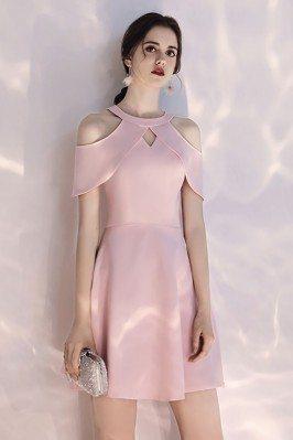 Short Halter Pretty Pink...