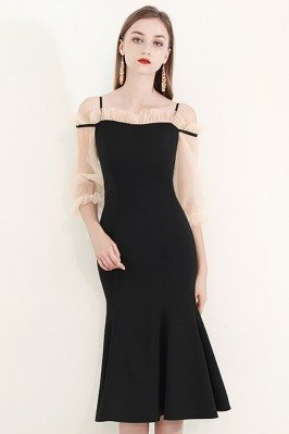 Elegant Black Party Dress...