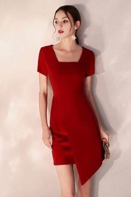 Little Red Short Bodycon...