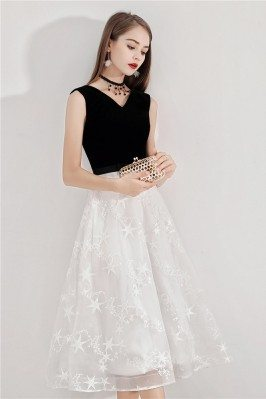 Black And White Lace Party...