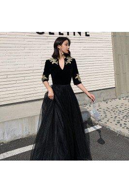 Noble Formal Long Black...